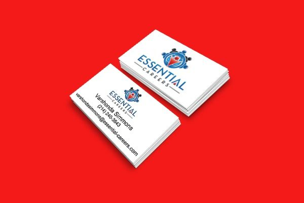 Essential Careers Biz Card Portfolio